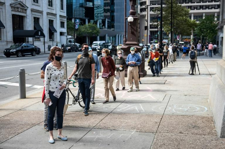 In Philadelphia, Democrats embrace early voting - Trump's bugbear