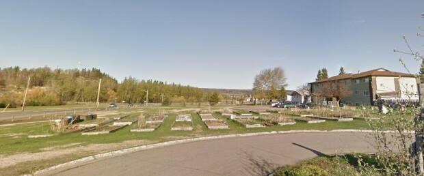 The Milburn Community Garden before it was levelled by bulldozers. The City of Prince George says it hasn't made any official agreement to allow any groups to build a community garden on the municipally owned land.