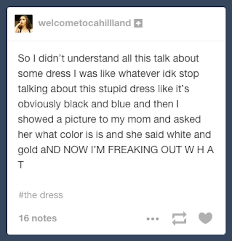 Tumblr is freaking out over this dress that looks both blue and ... 28419c27f