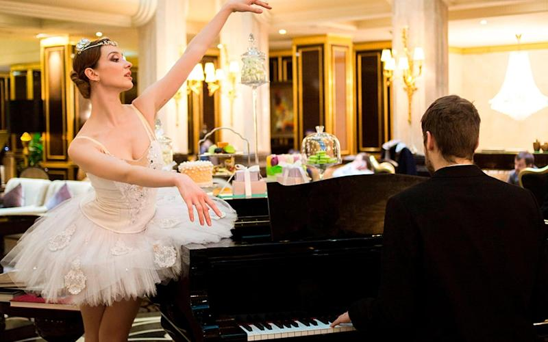 Evening rituals at the St. Regis Moscow sometimes involve live dance performance and music, a event that will sure to delight young ones