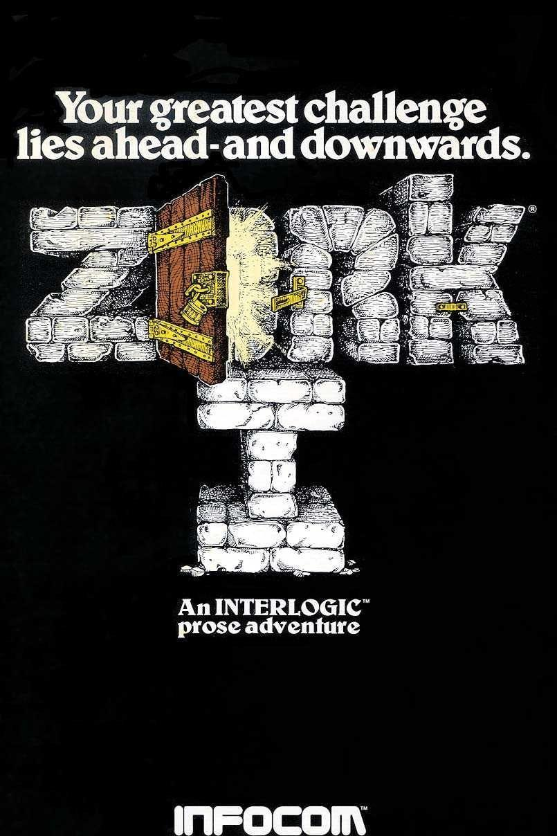 <p>Although it'd be a few more years until it reached its final form, the first playable version of<em> Zork</em> was created in the summer of 1977. It was a text adventure game, similar to the previous year's<em> Colossal Cave Adventure</em>, that mimicked <em>Dungeons & Dragons</em>. In fact, the creative team tried to name the game <em>Dungeon</em> but ran into copyright issues and reverted back to <em>Zork</em>. To this day, it remains of a beloved classic of RPG fans worldwide.<br></p>