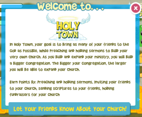 Holy Town mission