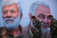 Iraq has seen repeated attacks against US targets since Washington assassinated Iranian general Qasem Soleimani in January 2020