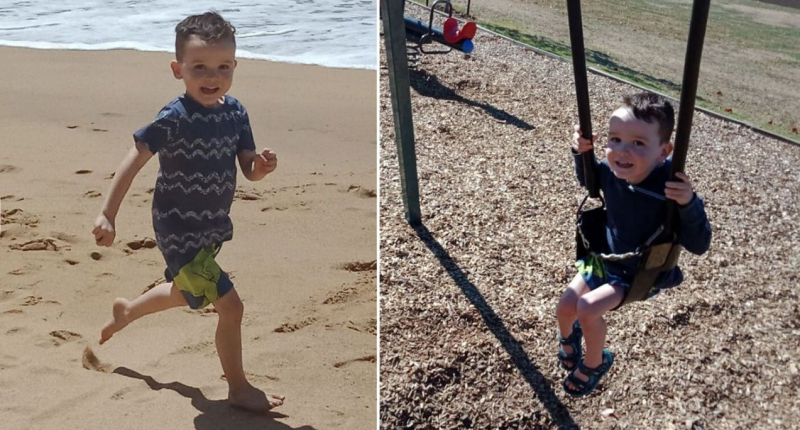 Photos of Darragh who was born on Australia in 2015, making it the only country he knew.