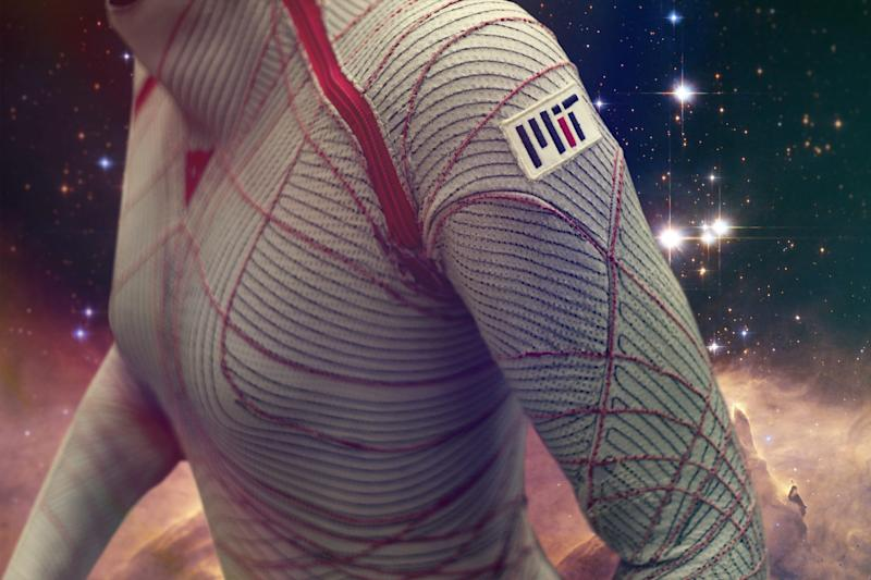 Spacesuits have been bulky since before Apollo 11. A skintight design may change that