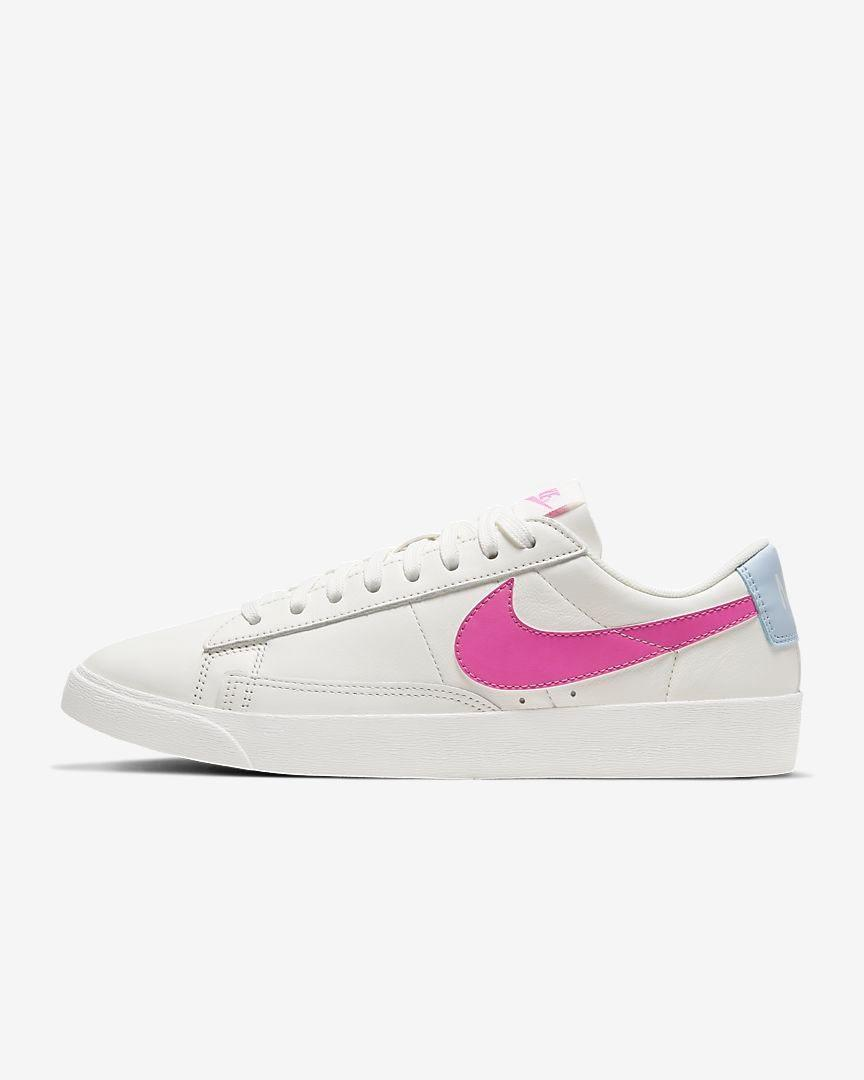 "Ahem, now you'll need a pair of sneakers to go with your new jacket. This simple low-top option will go right with it (and everything else in your closet). $75, Nike. <a href=""https://www.nike.com/t/blazer-low-le-womens-shoe-Wgg1Mw/AV9370-110"" rel=""nofollow noopener"" target=""_blank"" data-ylk=""slk:Get it now!"" class=""link rapid-noclick-resp"">Get it now!</a>"