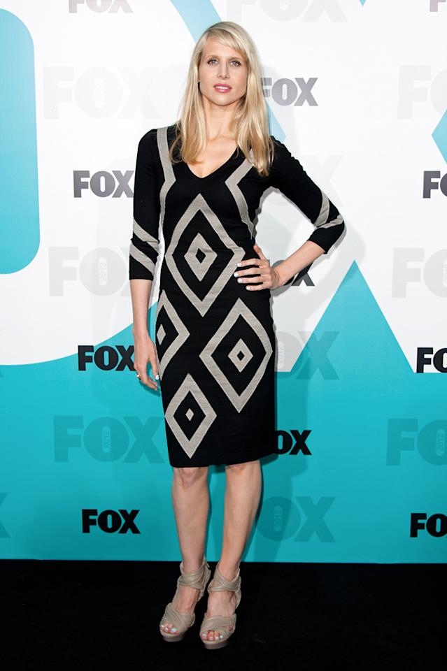 """Lucy Punch (""""Ben and Kate"""") attends the Fox 2012 Upfronts Post-Show Party on May 14, 2012 in New York City."""