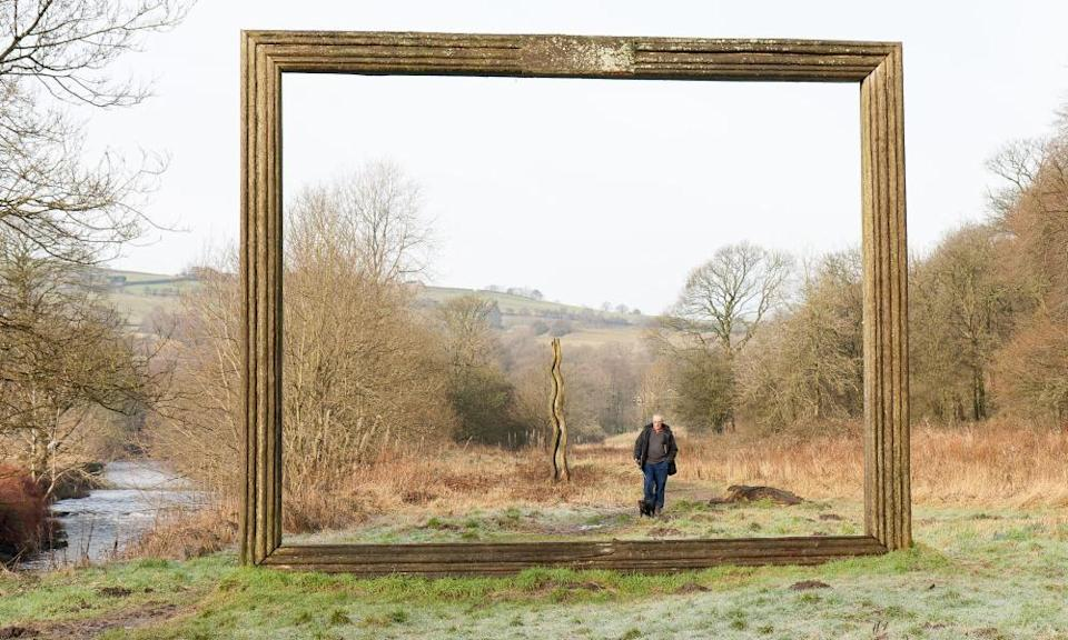 Picture Frame, on the Irwell Valley Sculpture Trail.