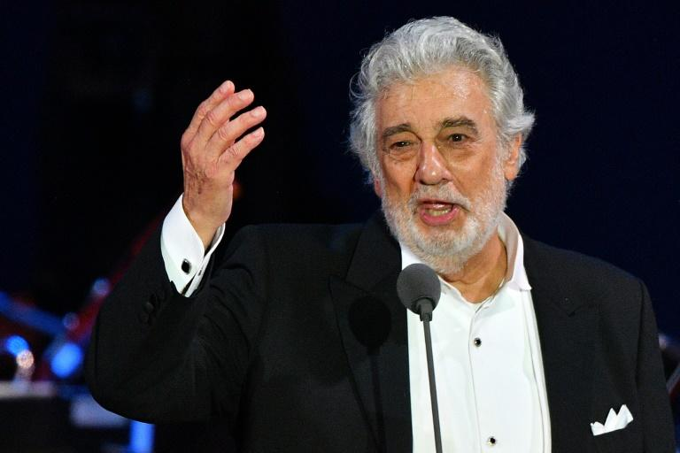 Placido Domingo, pictured in August 2019, was chosen in May to receive the first edition of Mexico's Batuta prize (AFP Photo/Attila KISBENEDEK)
