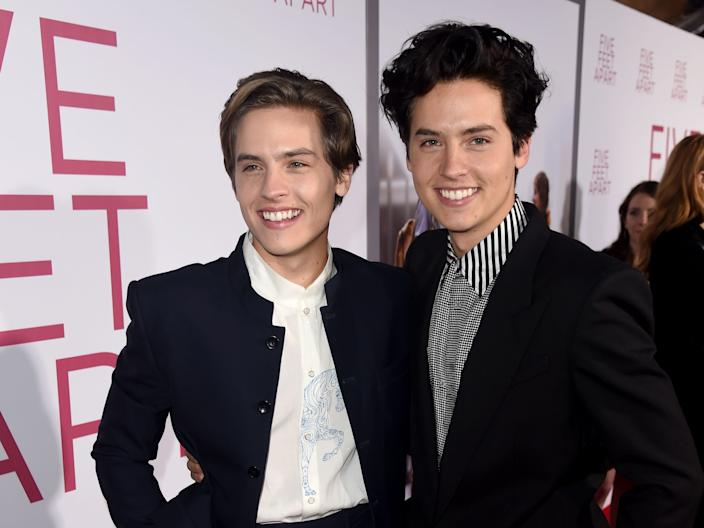 The Sprouse twins today.
