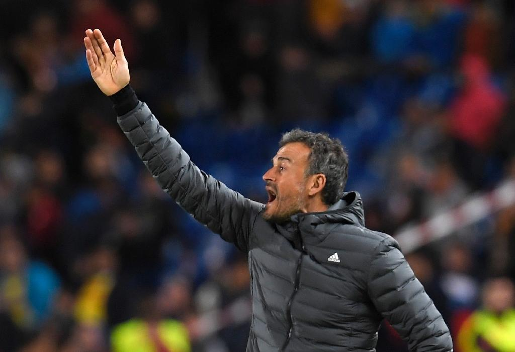 Luis Enrique steps down as Spain coach and is replaced by assistant Robert Moreno (AFP Photo/LLUIS GENE)