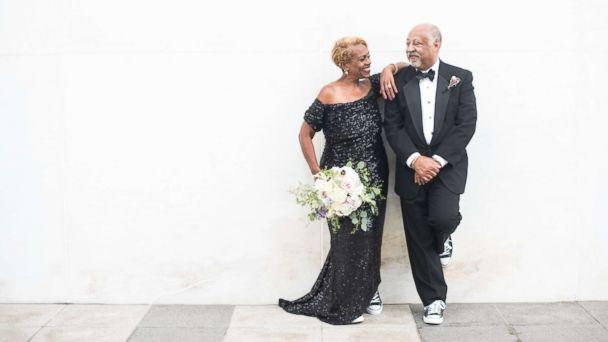 PHOTO: Jennifer and Timothy Bing lost their wedding photos in a fire 38 years ago. Their daughter Ashleigh gifted them a wedding photo shoot for their anniversary. (Ashleigh Bing Photography)