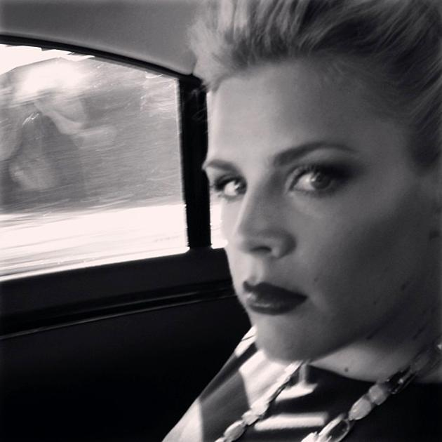On my way! I look serious because I am taking my sagawards social media duties SERIOUSLY. #SAGawards - @Busyphilipps25