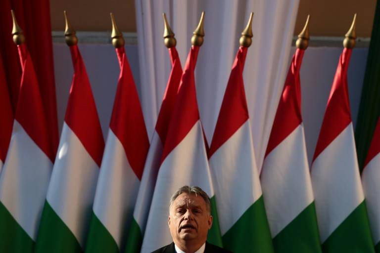 Hungarian nationalist party threatens crackdown after poll win