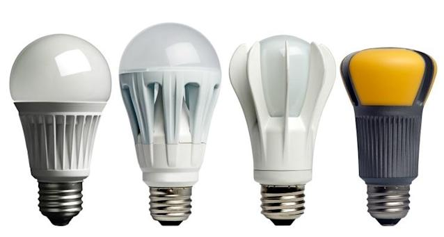 A few of the LED lightbulbs available on the market today.