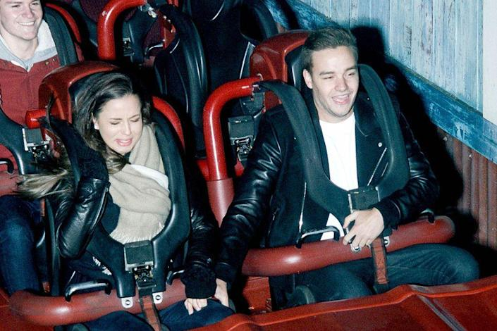 <p>We don't want to read too much into one photo, but we're not that surprised that the One Direction singer is no longer with girlfriend Sophia Smith, who looked absolutely miserable next to him on a coaster. Think Cheryl Cole likes 'em? (Photo: AKM-GSI) </p>