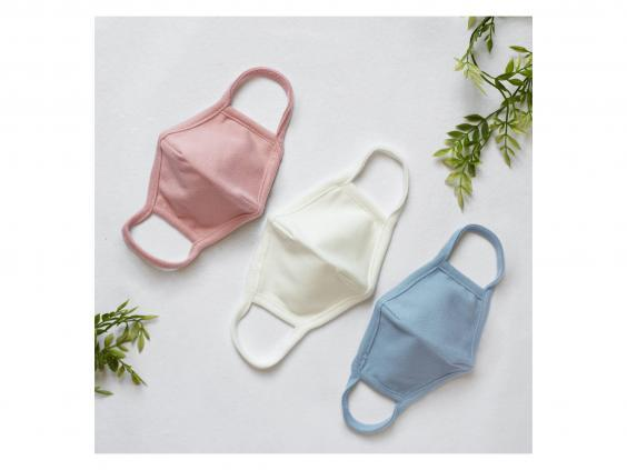 This American apparel brand has made soft cotton washable face masks for children aged two to eight (Alex and Nova)
