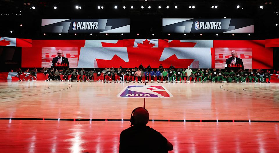 The Raptors could be heading back to Florida for the upcoming season, with Tampa Bay emerging as a leading candidate to host the team. (Photo by Nathaniel S. Butler/NBAE via Getty Images)