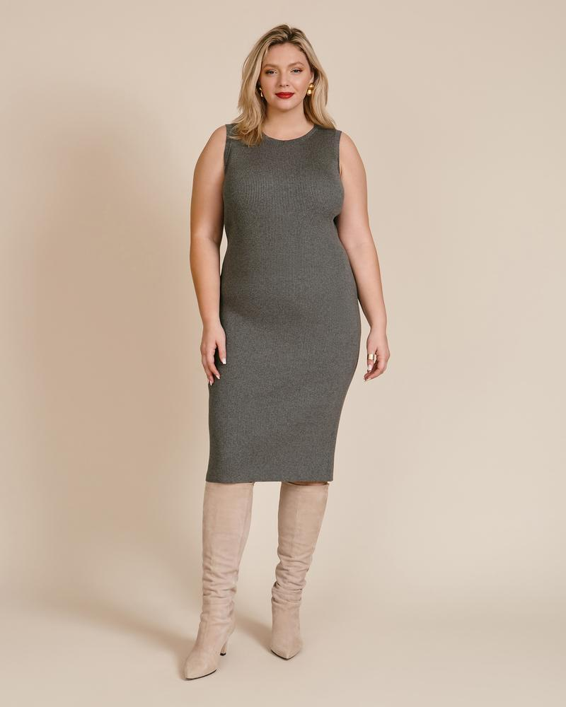 """<h2>Hennig Ribbed Knit Dress <br></h2><strong><br>Best Plus-Size Luxury Sweater Dress </strong><br><em>Size Range: 1X-4X</em><br><br>This sleeveless number from plus-size luxury brand Hennig checks all the boxes: Its exquisite construction, moisture-wicking fabric, and endless styling opportunities make it your new go-to for date night, work, and beyond. <br><br><br><em>Shop <strong><a href=""""https://go.skimresources.com/?id=30283X879131&isjs=1&jv=15.2.0-stackpath&sref=https%3A%2F%2Fwww.refinery29.com%2Fen-us%2Fplus-size-sweater-dresses%23slide-1&url=https%3A%2F%2F11honore.com%2Fproducts%2Fhenning-ribbed-knit-dress&xguid=01ERGDHBXNJ489J9KBAH8RZJH0&xs=1&xtz=240&xuuid=13a7fbd9948972339c551d8b8235af4b&xjsf=other_click__contextmenu%20%5B2%5D"""" rel=""""nofollow noopener"""" target=""""_blank"""" data-ylk=""""slk:11 Honoré"""" class=""""link rapid-noclick-resp"""">11 Honoré</a></strong></em><br><br><strong>Hennig</strong> Ribbed Knit Dress, $, available at <a href=""""https://go.skimresources.com/?id=30283X879131&url=https%3A%2F%2F11honore.com%2Fproducts%2Fhenning-ribbed-knit-dress"""" rel=""""nofollow noopener"""" target=""""_blank"""" data-ylk=""""slk:11honore"""" class=""""link rapid-noclick-resp"""">11honore</a>"""