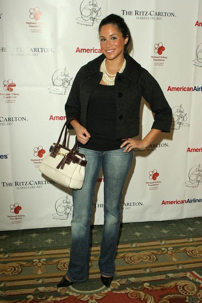 <p>At an event for the National Kidney Foundation in California in 2006. </p>