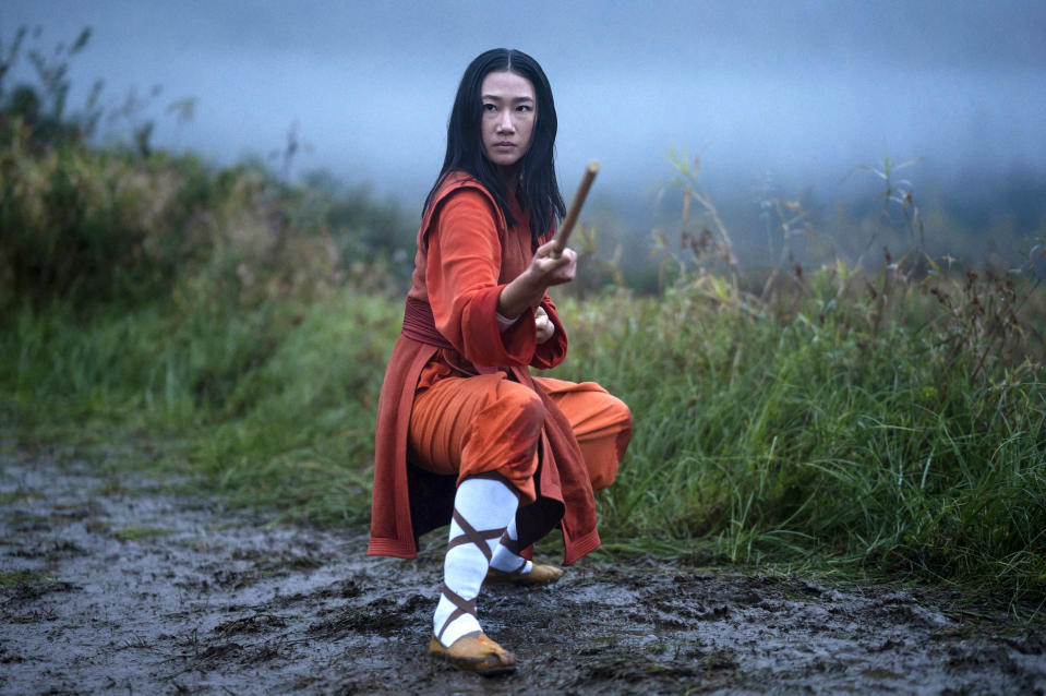 Olivia Liang as Nicky Shen in