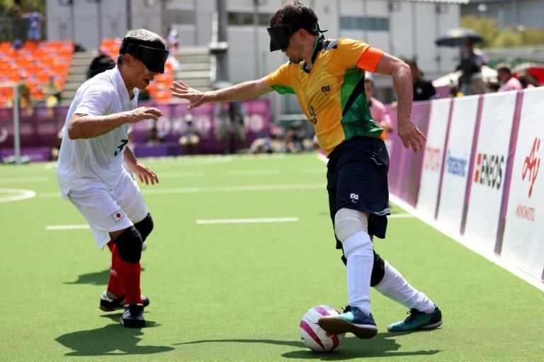 Brazil have won gold at every Paralympics since the sport debuted in 2004 (AFP/Behrouz MEHRI)