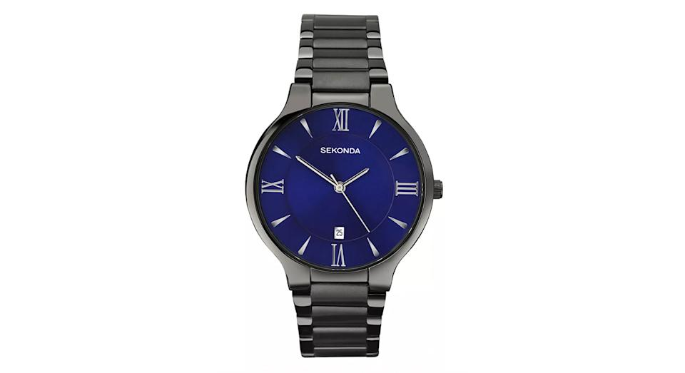 Sekonda 1140.00 Men's Date Bracelet Strap Watch
