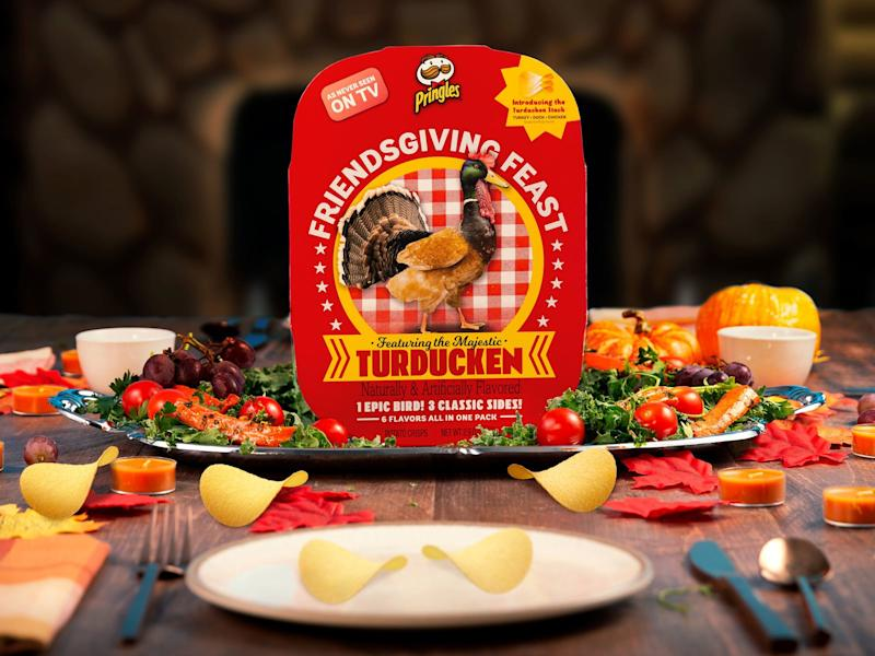 Pringles Thanksgiving Flavors Are Back with a Stackable Turducken in the Mix