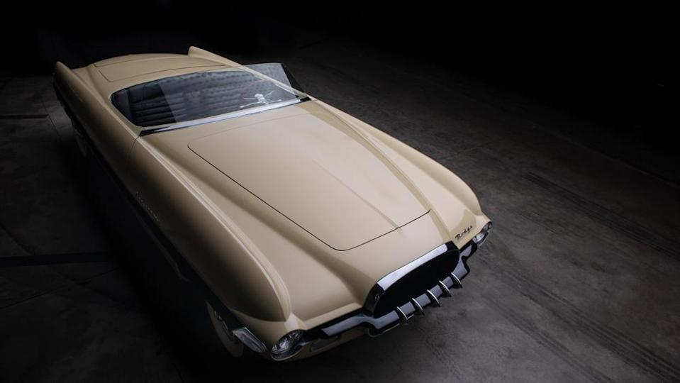 The 1954 Dodge Firearrow II concept car to be auctioned by RM Sotheby's. - Credit: Photo by Darin Schnabel, courtesy of RM Sotheby's.