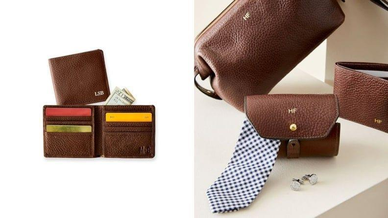 Best Father's Day Gifts: A monogrammed wallet