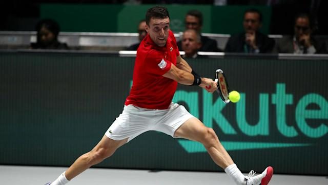 Spain will be without Roberto Bautista Agut for the rest of their Davis Cup campaign after the world number nine's father died.