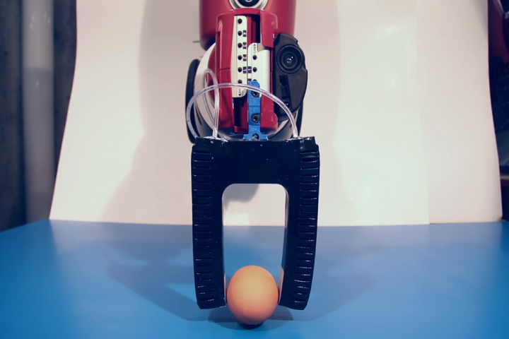 MIT's soft material, 3D-printed robotic arm