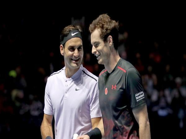 Roger Federer and Andy Murray (File Photo)