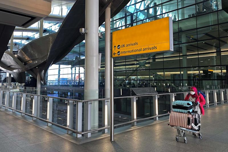 Heathrow's monthly passenger numbers fell to as many as would normally travel in a single day: Reuters