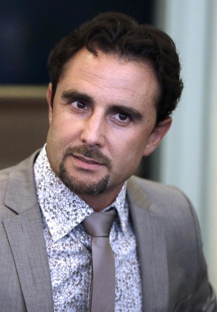 Switzerland has launched an investigation against HSBC employee-turned-whistleblower Herve Falciani, seen here in 2013, who stole the files at the heart of the scandal (AFP Photo/Kenzo Tribouillard)