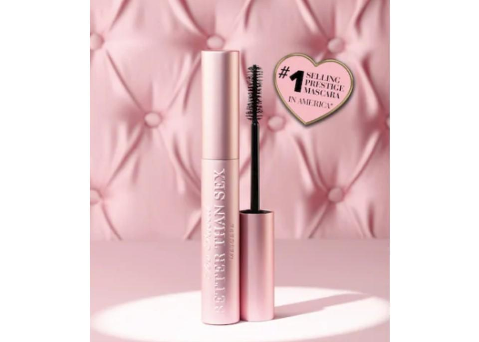 Too Faced Better Than Sex Volumizing Mascara. (Image via Sephora)