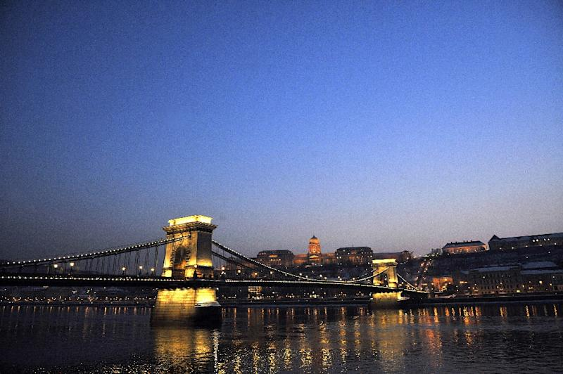 A view of Budapest, seen on February 8, 2010