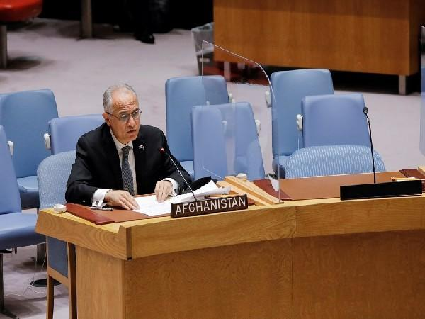 Afghanistan's permanent representative in the United Nations Ghulam Muhammad Isaczai. (Photo Credit - Reuters)