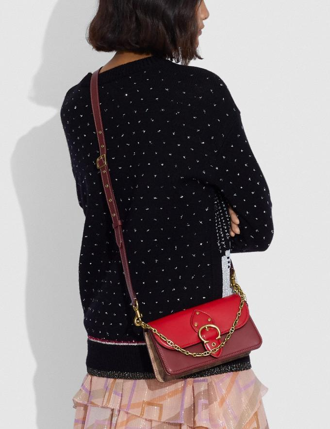 Lunar New Year Beat Crossbody Clutch In Colorblock Signature Canvas. Image via Coach.
