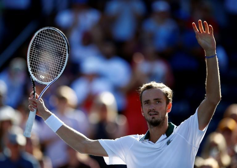 Russia's second-ranked Daniil Medvedev won a US Open tuneup event earlier in August at Toronto