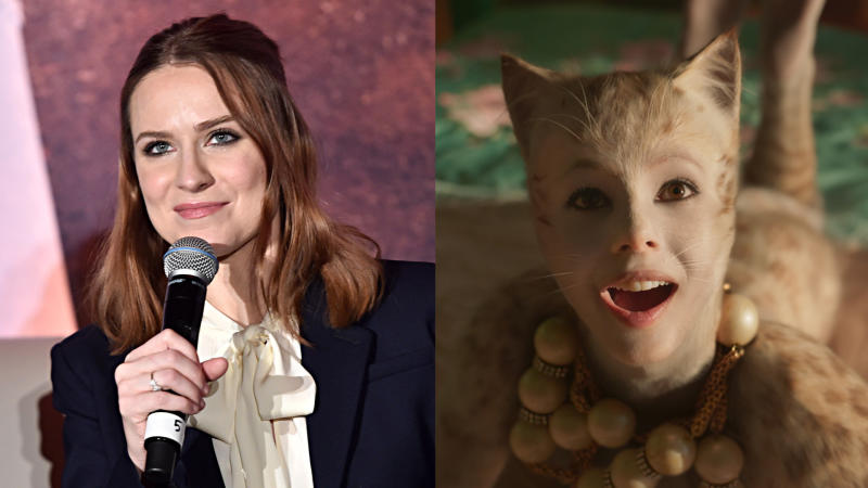 Evan Rachel Wood tore apart 'Cats' on social media. (Credit: Alberto E. Rodriguez/Getty/Universal)