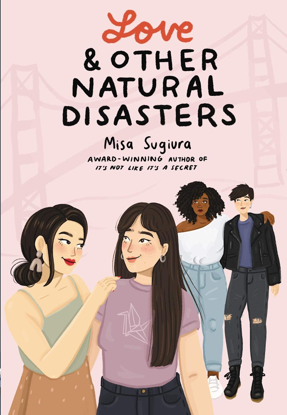 <p><span><strong>Love and Other Natural Disasters</strong></span> by Misa Sugiura is a warm-hearted queer rom-com with a fake dating plotline that will leave you grinning. Nozomi Nagai wasn't looking for a fake summer romance, but she embraces her role as Willow's new girlfriend in order to make Willow's ex jealous. But Misa might just have an ulterior motive in mind: to make Willow see that she's the perfect girl for her (for real). </p> <p><em>Out June 8</em></p>