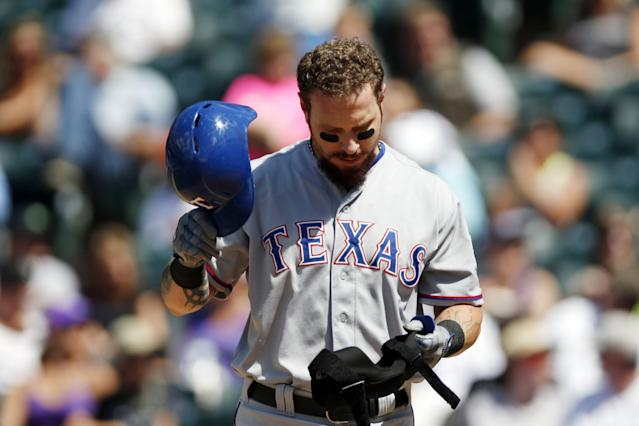 Josh Hamilton was released by the Rangers on Friday. (AP)