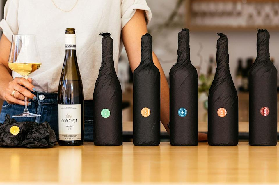 """<p><strong>SommSelect</strong></p><p>sommselect.com</p><p><strong>$99.00</strong></p><p><a href=""""https://www.sommselect.com/monthly-wine-clubs/"""" rel=""""nofollow noopener"""" target=""""_blank"""" data-ylk=""""slk:Shop Now"""" class=""""link rapid-noclick-resp"""">Shop Now</a></p><p>If your goal is to be a true connoisseur, let Ian Cauble guide you down the right path. The master sommelier, who is known for being featured in Netflix's documentary <em>Somm, </em>curates the wine cases for the SommSelect Monthly Wine Club. </p><p><strong>Cost:</strong> Starts at $99</p>"""