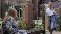<p>Gemma's former enemy is going through a tough time.</p>