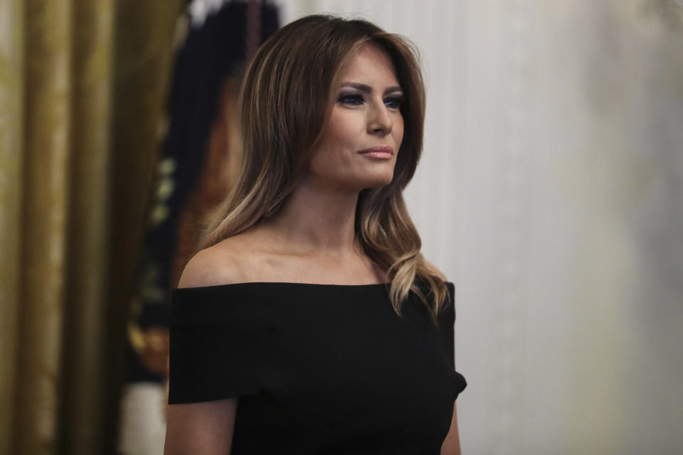 Melania Trump's spokeswoman wrote a scathing op-ed about the first lady's media coverage. (Photo: Oliver Contreras/Pool/Getty Images)
