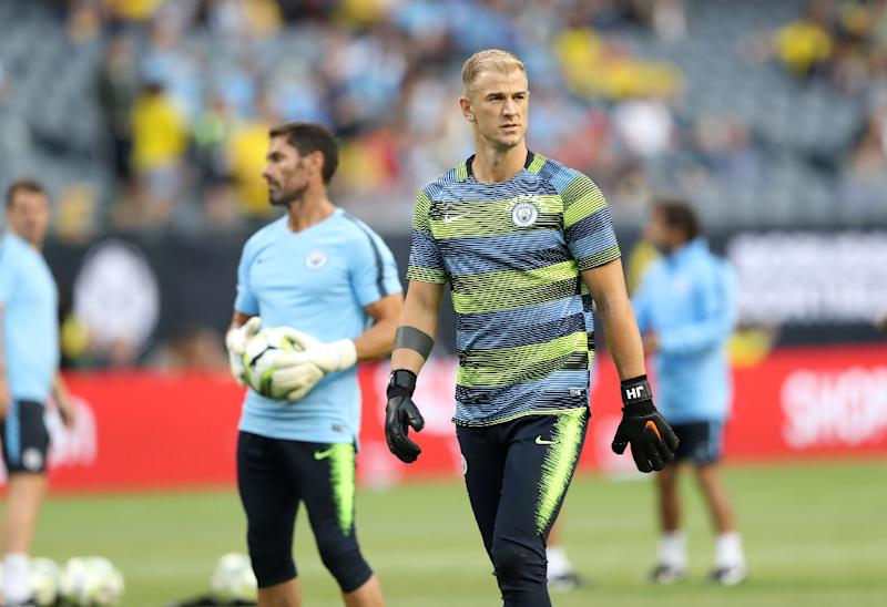 cd5fa6113 Former England goalkeeper Joe Hart was axed by Pep Guardiola following his  appointment two years ago