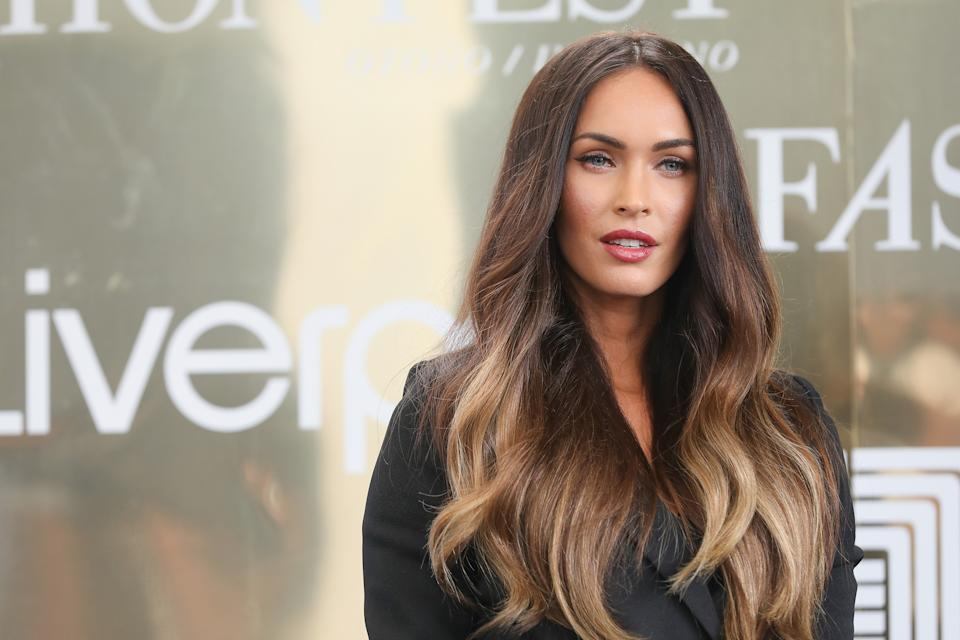 MEXICO CITY, MEXICO - SEPTEMBER 06:  Actress Megan Fox attends a press conference during the Liverpool Fashion Fest Autumn/Winter 2017 at Liverpool Insurgentes on September 6, 2017 in Mexico City, Mexico.  (Photo by Victor Chavez/Getty Images)