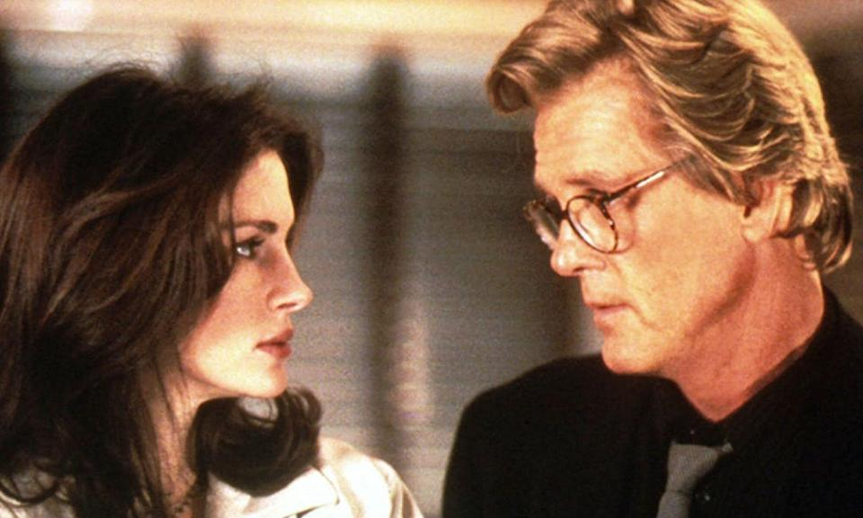 "<p>It's hard to imagine Nick Nolte in any kind of romantic leading man capacity these days, but his unique look was considered hot stuff back in the '90s when he was paired with Julia Roberts in rom-com about rival reporters. Roberts did not get on with Nolte one bit and neither party were afraid to admit it. Even years later, they are unable to hide their animosity. Roberts recently called Nolte ""a disgusting human being"" while Nolte fired back, saying of Roberts, ""She is not a nice person."" Mee-ow! </p>"