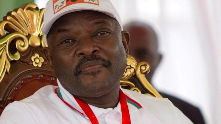 Mr Nkurunziza took pride in the fact that he helped bring peace to the country